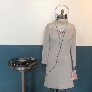 1960s mod designer vintage sample mini gogo dress